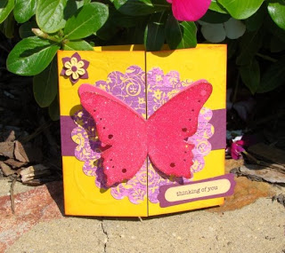 Interlocking Butterfly Card