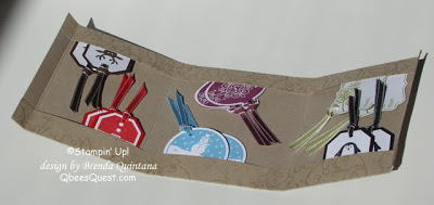 Christmas Tag Wallet