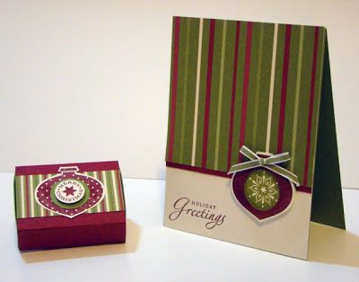 Delightful Decorations Card and Box