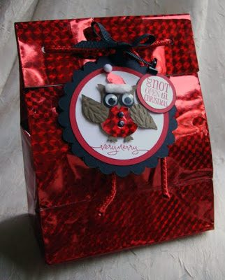 Owl Punch Gift Bag