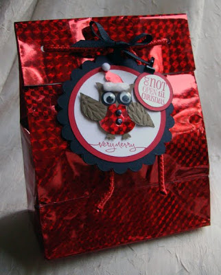 Owl Punch Gift Bag