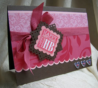 Punch Bunch Birthday Card