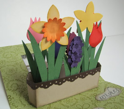 Flower Box Pop-Up Card