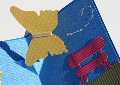 Two Butterflies Pop-up Card