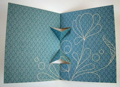 Tying the Knot Pop-up Card