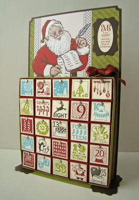 Inch Box Advent Calendar Tutorial