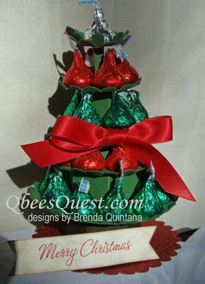 3D Hershey's Kisses Christmas Tree