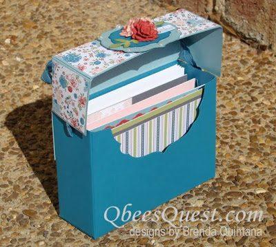Note Card Box Tutorial