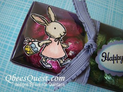 Everybunny Long Clear Top Candy Box Tutorial