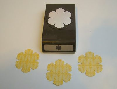 Blossom Punch Pop-up Card