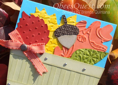 Bushel Basket Leaf Card Tutorial