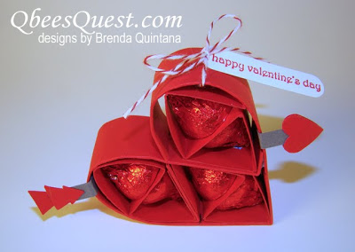 Hershey's Kisses Valentine's Heart Tutorial
