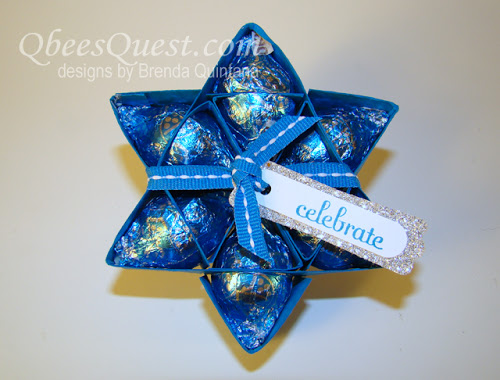 Hershey's Kisses Star Tutorial (6-point)