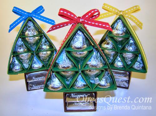 Hershey's Christmas Tree Tutorial UPDATED!!!!