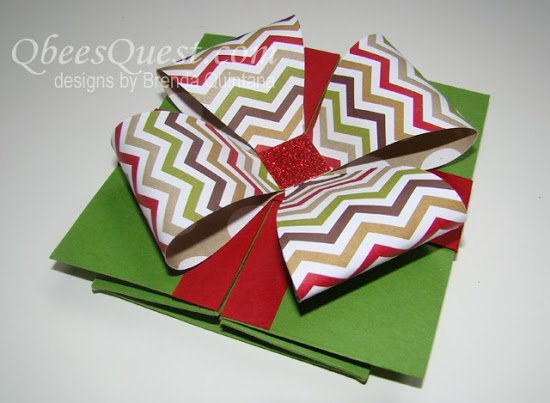 Square Box Card Tutorial