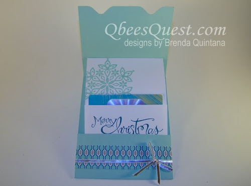Envelope Punch Board Gift Card Holder