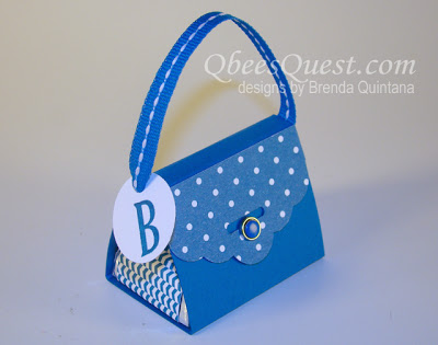 Scalloped Tag Topper Punch Purse Tutorial