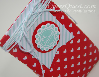 Sweetheart Treat Bag Tutorial