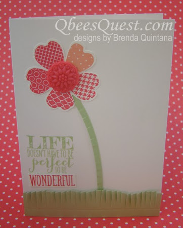 Minute Mondays: Wonderful Flower Shop Card