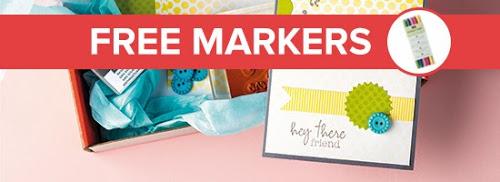 Paper Pumpkin Kit FREE Marker Promotion extended