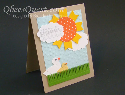 You Make Me Happy Sale-A-Bration Card