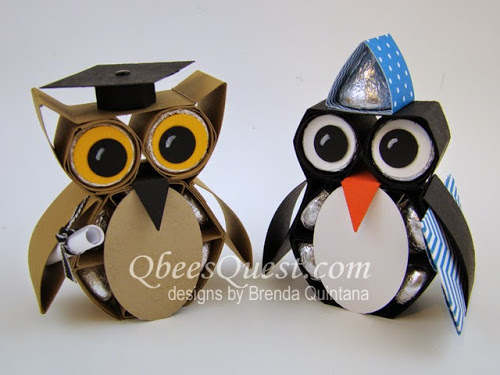 Hershey's Owl and Hershey's Penguin Tutorial