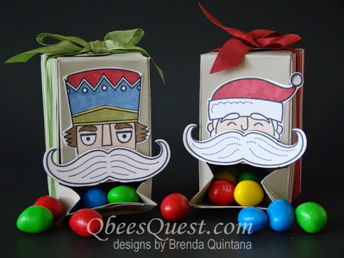 Gift Box Punch Board Candy Dispenser Tutorial