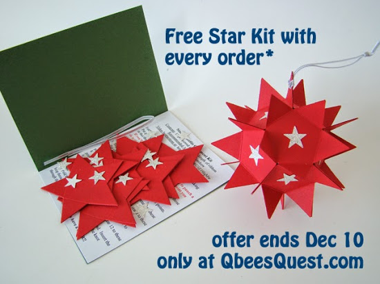 FREE Star Ornament Kit with Stampin' Up! Order