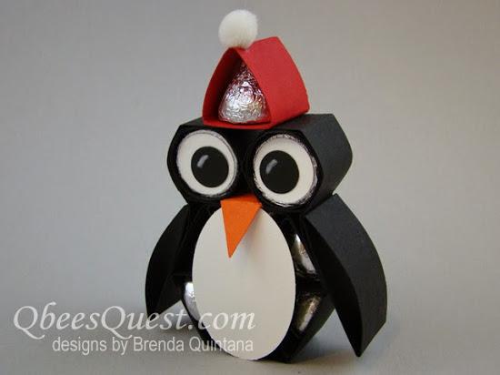 Hershey's Santa Penguin