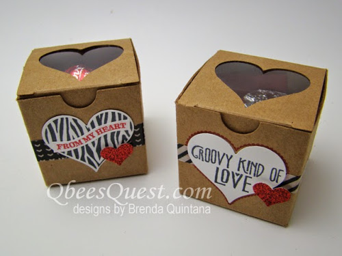 Groovy Love Tiny Treat Boxes