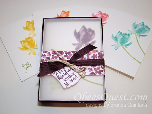 Vellum Note Card Box Tutorial