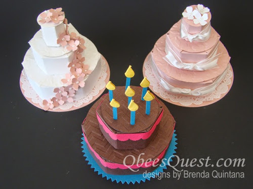 Hershey's Wedding Cake and Birthday Cake Favors