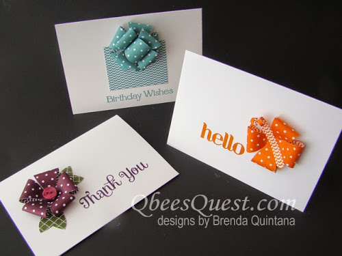 Bow Builder Punch Note Cards