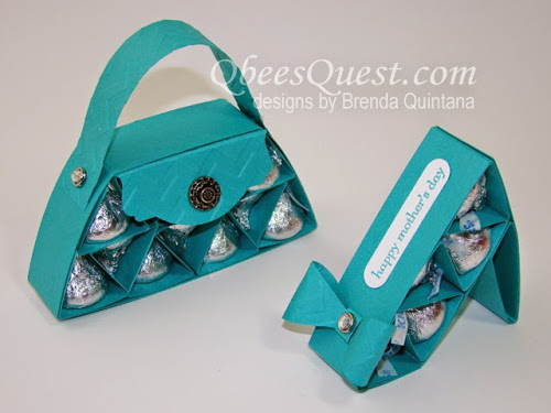 Hershey's Purse and Shoe Tutorial