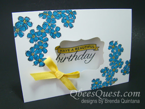 Birthday Blossoms Note Cards