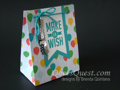 Cherry On Top Gift Bags Tutorial