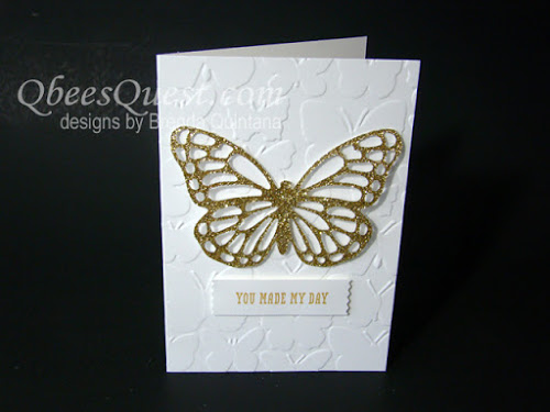 Minute Mondays: Easy Butterfly Card