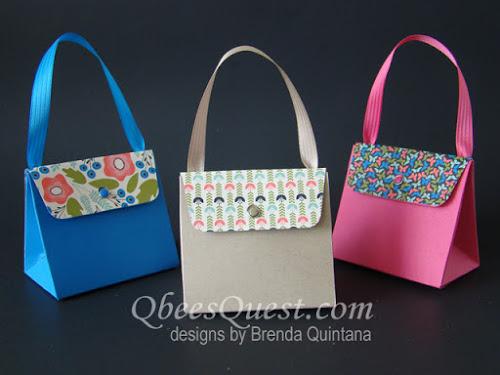 Gift Bag Punch Board Purse Tutorial