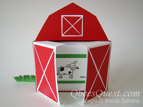 Barn and Window Note Card Boxes