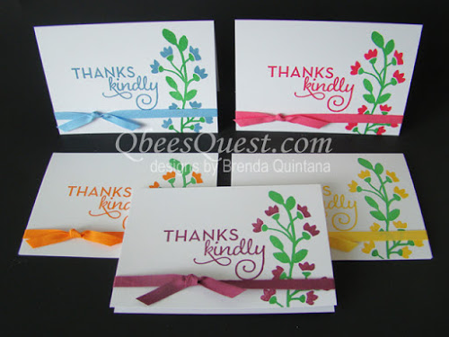 Bountiful Border Note Cards