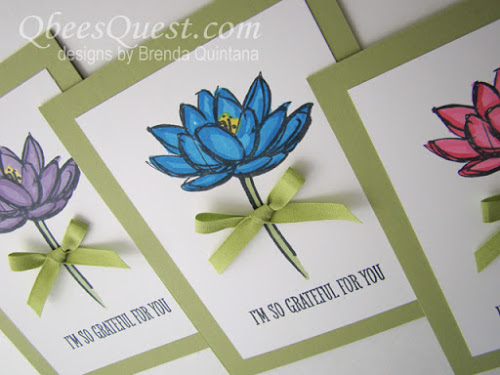 Remarkable You Lotus Cards