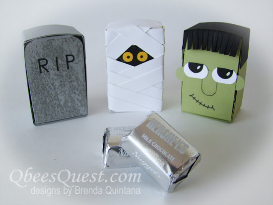 Hershey's Frankenstein, Mummy & Grave Stones