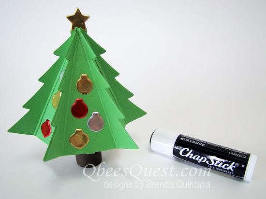 Lip Balm Christmas Tree