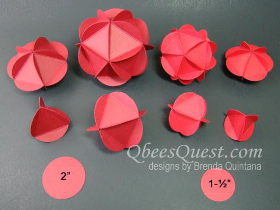 Circle Punch Ornaments