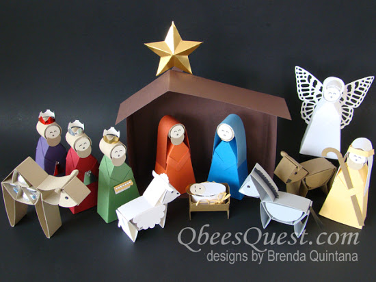 Hershey's Nativity ONE & TWO together