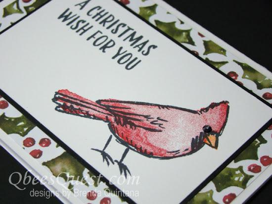 Joyful Season Cardinal Note Card 2