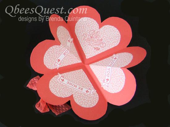 Heart-Shaped Fancy Fold Card