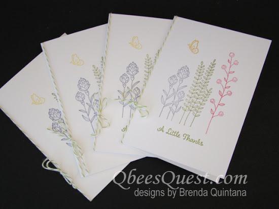 Flowering Fields Note Card