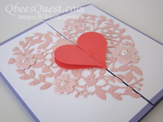 Interlocking Heart Card