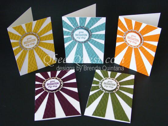 Sunburst Sayings Note Cards